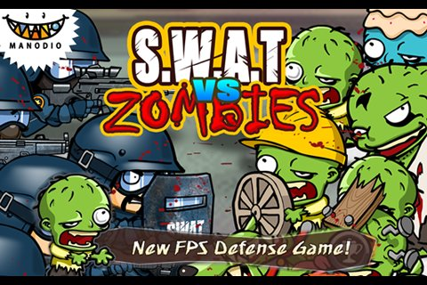 SWAT and Zombies画面サンプル_1